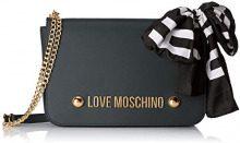 Love Moschino Borsa Soft Grain Pu - Borse a spalla Donna, Verde, 7x19x29 cm (B x H T)