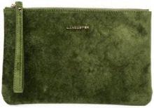 - Lancaster - Clutch con zip - women - Velvet - Taglia Unica - Verde