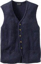Gilet tradizionale in maglia regular fit
