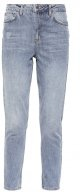 MOM - Jeans baggy - grey denim