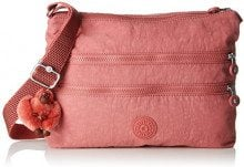 Kipling Alvar - Borse a tracolla Donna, Rosa (Dream Pink), 4.5x33x26 cm (B x H T)