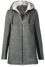 Cecil Structured Cosy Coat, Giubbotto Donna, Grau (Dark Grey 21029), XX-Large
