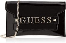 Guess Summer Night City, Borsa a Mano Donna, Nero (Black/Bla), 25.5x15x1 cm (W x H x L)