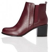 FIND Stivaletto Donna, Rot (BURGENDY), 40
