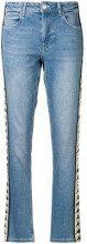 - Kappa - Jeans slim - women - fibra sintetica/cotone - L - di colore blu