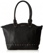 Little Marcel Do02 - Borse a spalla Donna, Noir (Black), 13x27x42 cm (W x H L)