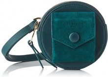 Liebeskind Berlin CROSSWAXS CAPOES, Borsa a tracolla Donna, Verde (Verde (forest green 7688)), 4x11x11 cm (B x H x T)