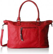 Little Marcel Id11-lm-red, Borsa tote donna Rosso Rouge (Red)