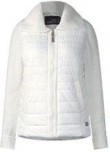 Cecil 210705, Cappotto Donna, Weiß (Pure Off White 10125), 38 (Taglia produttore: X-Small)