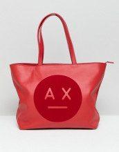 AX face - Maxi borsa con logo