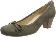 Gabor Shoes Basic, Scarpe con Tacco Donna, Verde (Oliv), 40 EU