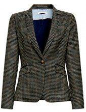 ESPRIT 107ee1g008, Blazer Donna, Multicolore (Pale Khaki 265), 34