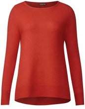 Street One Marie, Maglione Donna, Arancio (Baked Orange 11083), 42