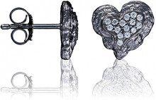 Orphelia–Orecchini da donna 925argento con zirconi bianchi taglio rotondo–zo–7082, argento, cod. ZO-7082/2