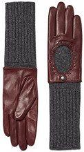 ESPRIT 116EA1R013, Guanti Donna, Rosso (Bordeaux Red), 7