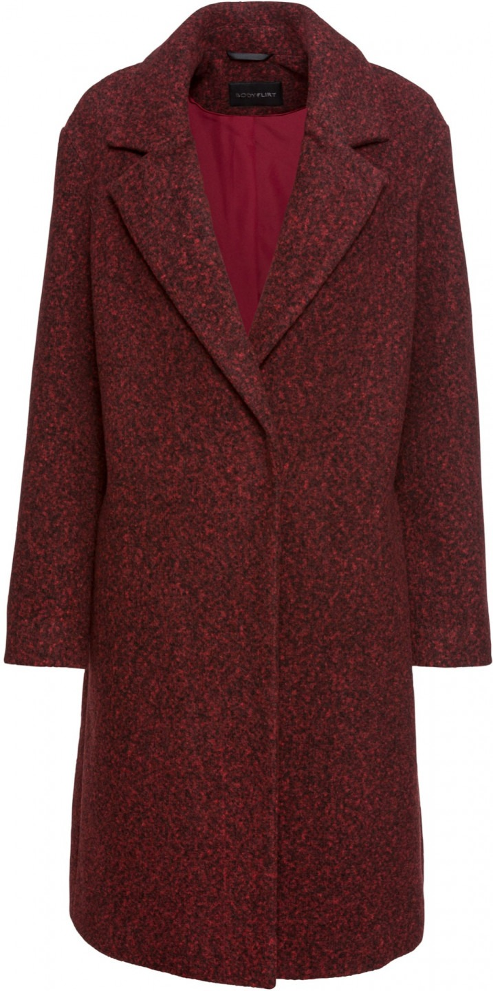 Lana rosso Simil Cappotto In Bodyflirt wfqaABxP