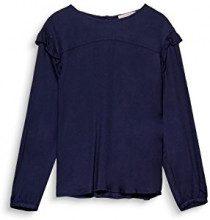 ESPRIT 018ee1f003, Camicia Donna, Blu (Navy 400), 42