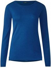 Cecil 300636 Julianna, Maglione Donna, Blau (Tinted Ink Blue 11465), X-Large