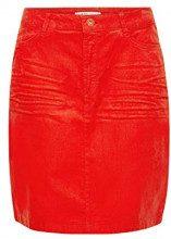 edc by Esprit 098cc1d008, Gonna Donna, Rosso (Orange Red 635), 48 (Taglia Produttore: 42)