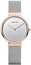 Bering Orologio Analogico Quarzo da Donna con Cinturino in Acciaio Inox 14531-060