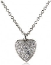 Fossil Collana, Argento Sterling 925, Donna