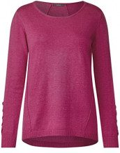 Cecil 300545, Maglione Donna, Rosa (Magic Pink Melange 21283), XX-Large