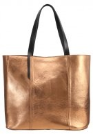 Shopping bag - bronze/gold