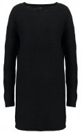 VIRIVA  - Vestito di maglia - black