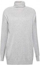 edc by Esprit 108cc1i020, Felpa Donna, Grigio (Medium Grey 5 039), Small