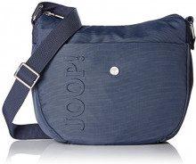 Joop! Nylon Naviga Delia Shoulderbag Mhz - Borse a spalla Donna, Blu (Dark Blue), 10x23x25 cm (W x H L)