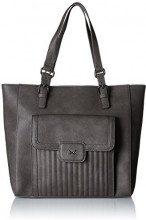 Sansibar Shopper Bag - Borse a secchiello Donna, Grau (Dim Grey), 14x32x34 cm (B x H T)