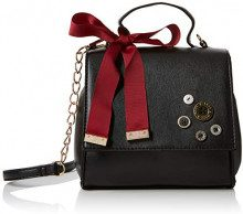 Joe Browns Military Minx Bag - Borse a mano Donna, Nero (Black), 6.55x17.5x18.5 cm (W x H L)