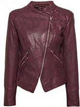 ESPRIT 098ee1g034, Giacca Donna, Rosso (Bordeaux Red 600), X-Small