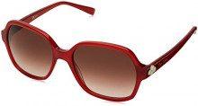 Pierre Cardin P.C. 8449/S HA C9A 55, Occhiali da Sole Donna, Rosso (Red/Brwn SF)