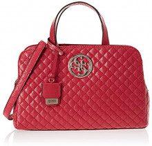 Guess Gioia, Borsa a Spalla Donna, Rosso Red, 35x23.5x12 cm (W x H x L)