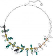 Collana Helen, multicolore, placcatura palladio