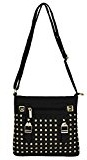 VanGoddy Rock Studded Serie delle donne borsa crossbody messaggero a tracolla tote mini borsa