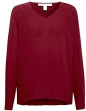 ESPRIT 088ee1f001, Camicia Donna, Rosso (Garnet Red 620), 42 (Taglia Produttore: 36)