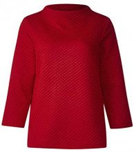 Street One 300685 Joena, Felpa Donna, Rot (Pure Red 11496), 40