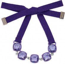 Braccialetto Jewel-y McHue-y, vernice viola opaca