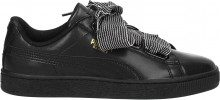Sneakers Puma basket heart Donna Nero