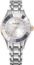 Orologio Alegria, Bracciale di metallo, bianco, tono argentato