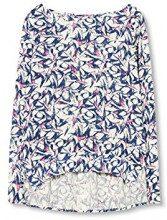 ESPRIT 017ee1f005, Camicia Donna, Multicolore (off White), 40