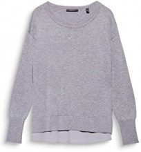 ESPRIT Collection 098eo1i006, Felpa Donna, Grigio (Medium Grey 5 039), XX-Large