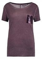 ONLNOVA - T-shirt con stampa - fudge