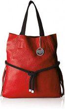 Chicca Borse Cbc3335tar, Borsa a Spalla Donna, Rosso, 8x35x40 cm (W x H x L)