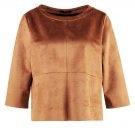 FRANSIN - Maglietta a manica lunga - cognac