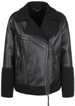 Marc Cain Sports KS 12.07 W98, Cappotto Donna, Nero (Black 900), 46