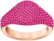 Anello Stone Signet, rosa, placcato oro rosa