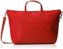 Lacoste L1212Concept, Borse Tracolla, Rosso (Rouge (Cherry Tomato)), 14x30x35 cm (W x H x L)